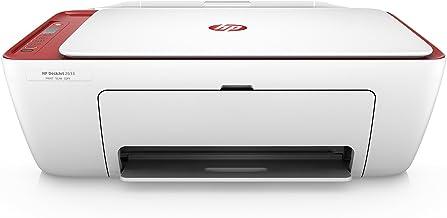 HP DeskJet 2633 AiO 4800 x 1200DPI Inyección de Tinta térmica A4 7.5ppm WiFi - Impresora multifunción (Inyección de Tinta térmica, 4800 x 1200 dpi, 60 Hojas, A4, Impresión Directa, Rojo, Blanco)