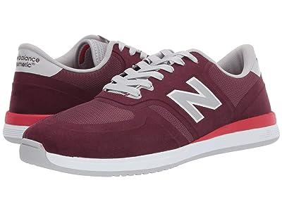 New Balance Numeric 420 (Burgundy/Red) Men