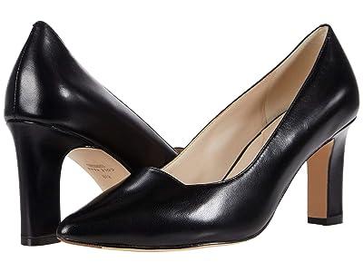 Cole Haan Modern Classics Pump (75 mm) (Black Leather) Women