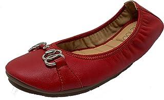 1357fc8e739 Red Women's Flats | Amazon.com