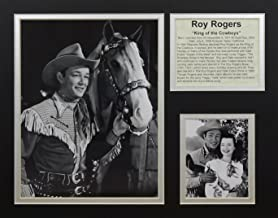 """Roy Rogers - With Trigger 11"""" x 14"""" Unframed Matted Photo Collage by Legends Never Die, Inc."""