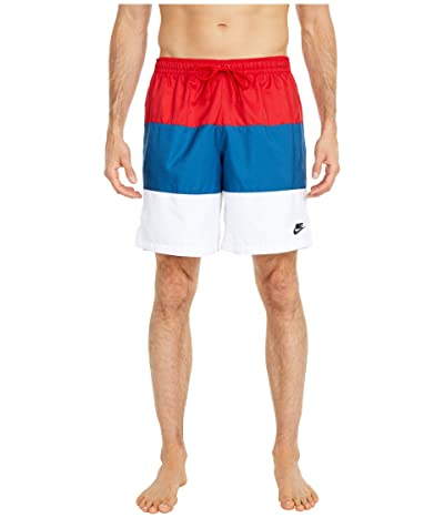 Nike NSW Shorts Woven Novelty (University Red/Industrial Blue/Black) Men