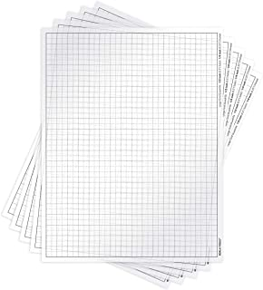 Koala Tools   Quadrille Grid Transparency Sheets (Pack of 5) - 8.5