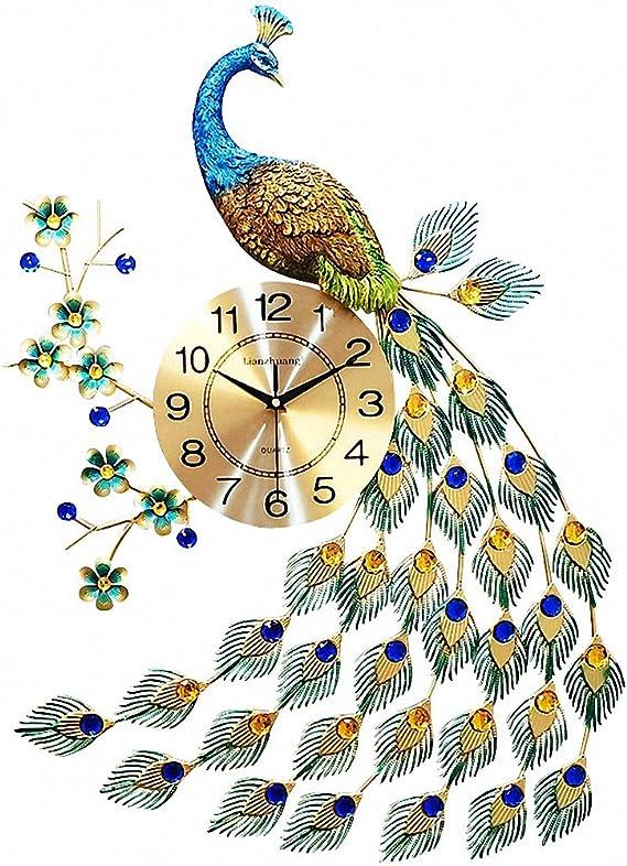 MagicPro peacock wall clock