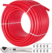 Happybuy 1 Inch X 300ft PEX Tubing Pipe Oxygen Barrier EVOH Anti-corrosion Cold Hot Water Durable for Residential Commercial Radiant Floor Heating PEX Pipe
