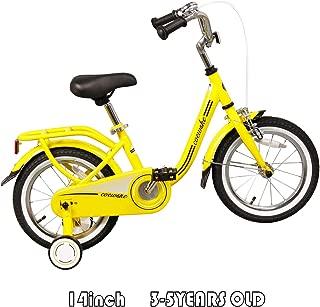 COEWSKE 14 Inch-Wheel Kids Bike with Training Wheels Fit for 3-5 Years Old 35-47 Inch Tall Kids 95% SKD