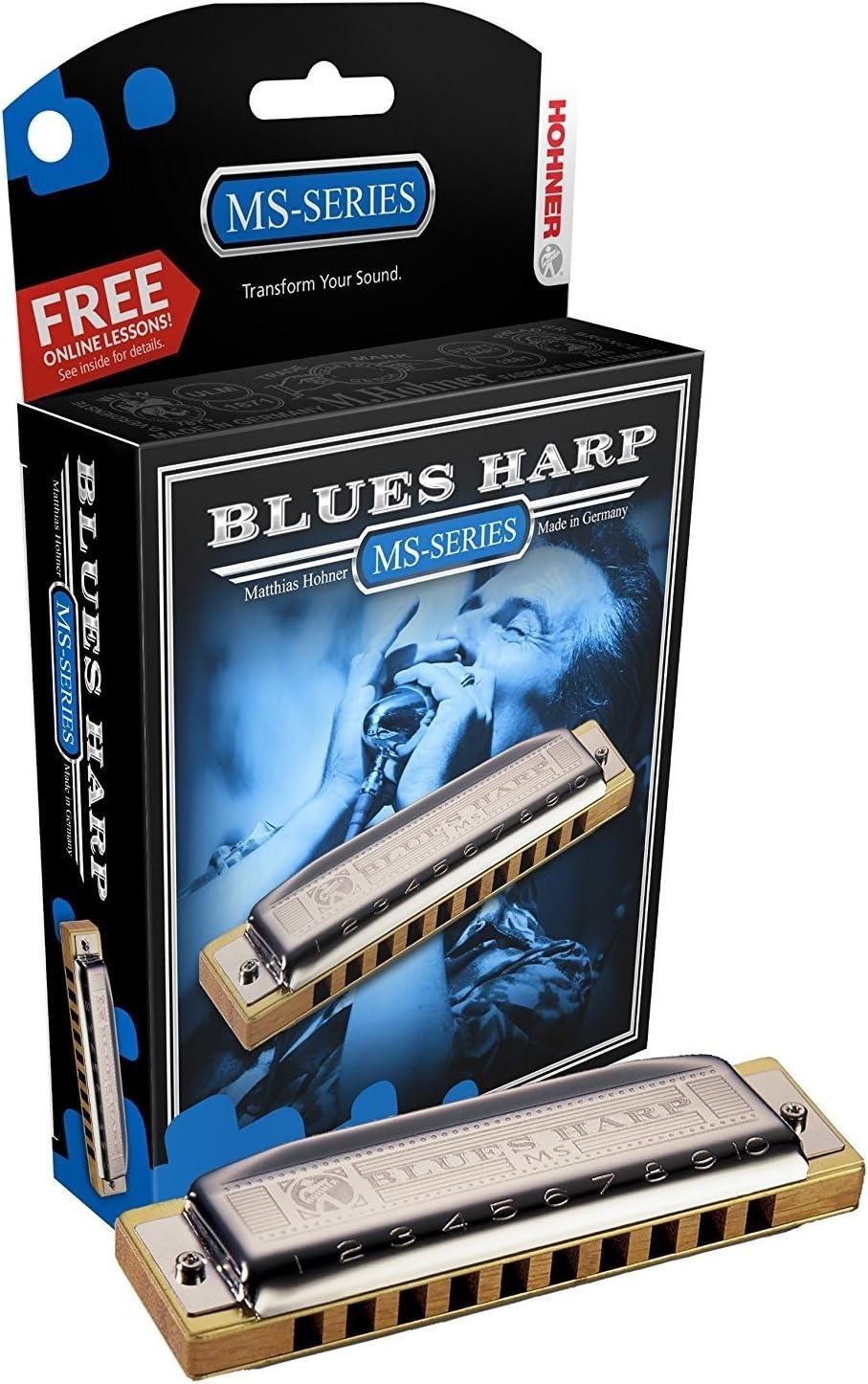 Hohner Blues Harp Harmonica Regular Outstanding store of Key F#