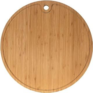 "Bamboo Round Cutting Board 15"" diameter x 0.75"" thickness - 1 Piece"