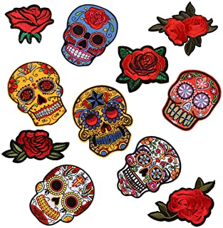 Patch BACK PIECE 12.75 in Wide X 10 in tall Resident Evil Skull LARGE free ship