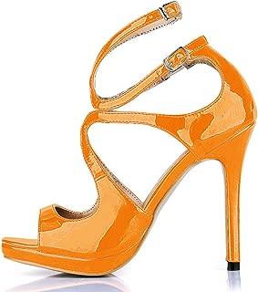 Sandalias de verano nuevos productos temperamento femenino vestido de noche zapatos vino la cinta roja de alta Heel Shoes