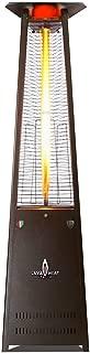 Lava Heat Italia - AMAZON-132 - Lava Lite Patio Heater - Heritage Bronze Finish - Natural Gas Configuration