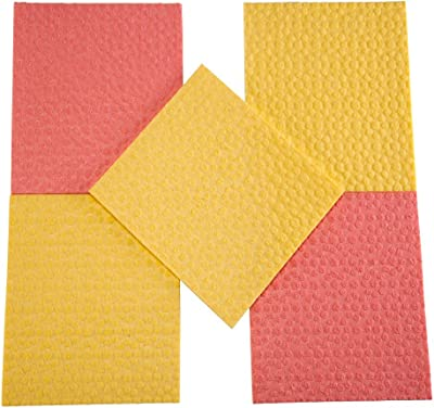 Scotch-Brite Sponge Wipe (5 Pcs) + Bathroom scrubber brush