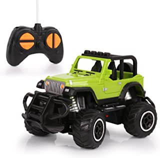 Mini RC Cars, HALOFUN Remote Control Car for Kids, Jeep Vehicle Sport Racing Hobby 1:43 Scale for Boys Girls