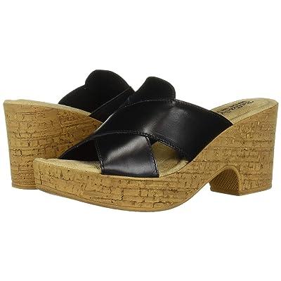 Bella-Vita Lor-Italy (Black Italian Leather) Women