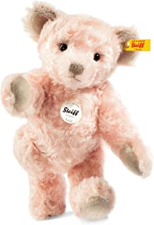 Steiff Inda Teddy Bear Collectible Plush Animal, Pale Pink