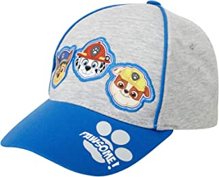 Nickelodeon Boys Paw Patrol Cotton Baseball Cap (Ages 2-4), Size Age 2-4, Paw Patrol Faces
