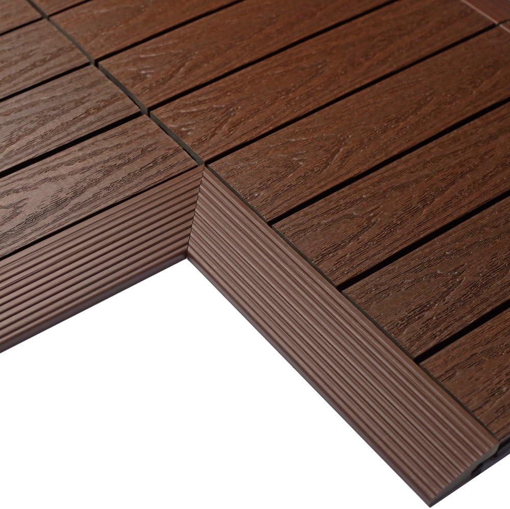 NewTechWood US-QD-IF-ZX-RW Spasm price 1 6 Outlet sale feature x Deck Quick ft. Tile Composite