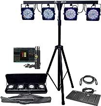 Chauvet DJ 4BAR LED Stage Wash Light System & ADJ MyDMX Buddy Package