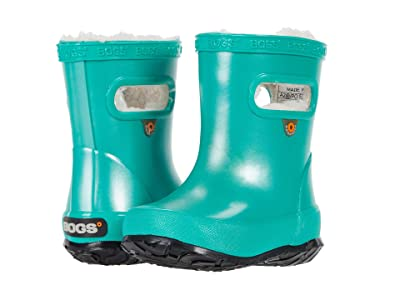 Bogs Kids Skipper Metallic Plush (Toddler/Little Kid) (Turquoise) Kid