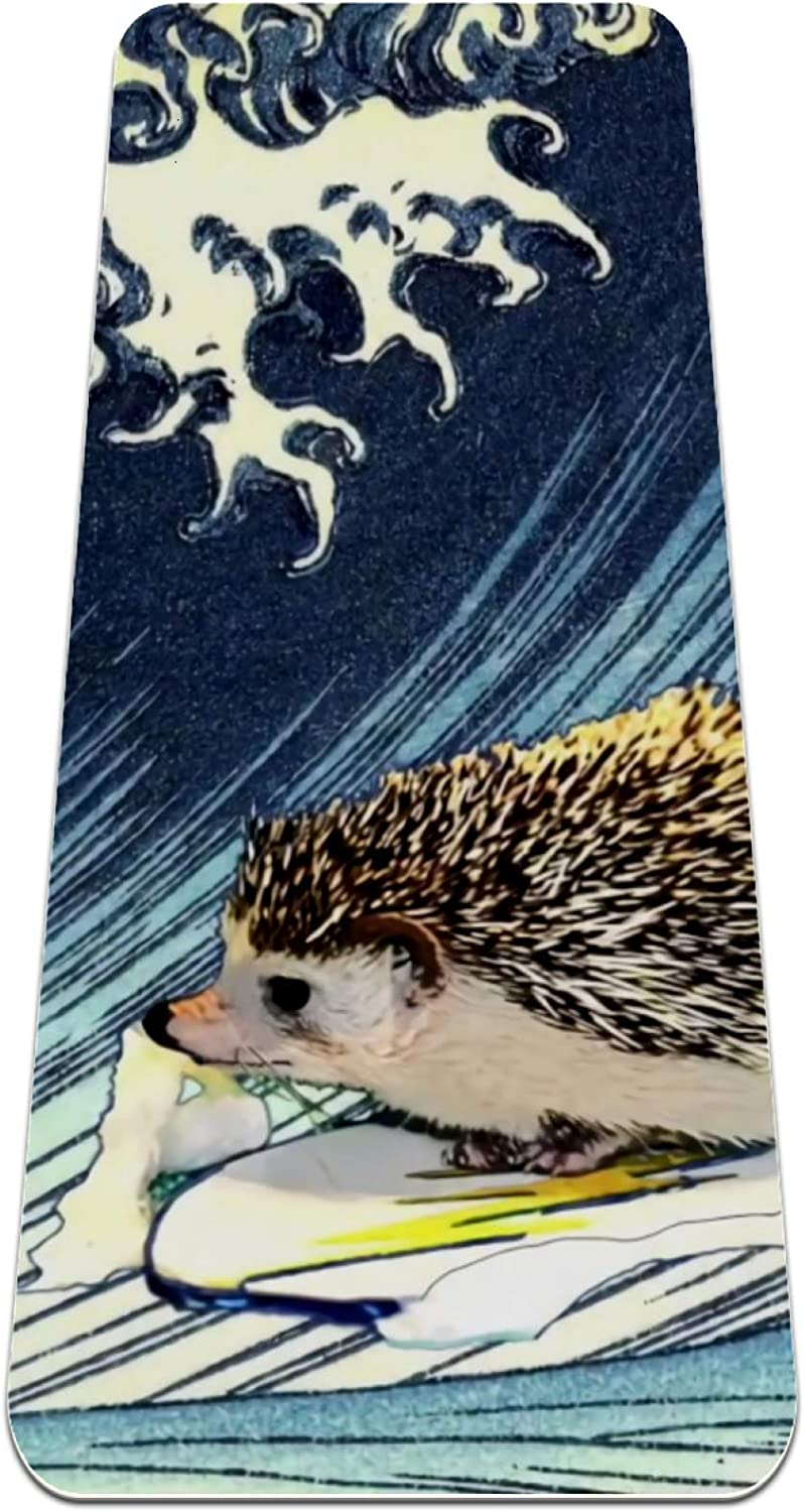 Hedgehog Special price Surfing Yoga Mat 6mm Non Thick To Eco-Friendly wholesale Slip