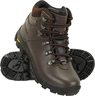 Mountain Warehouse Lattitude Extreme Waterproof Vibram Womens Boots - Durable Ladies Hiking Shoes, Cushioned Footbed Campi...