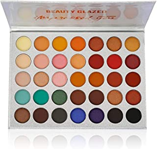 Beauty Glazed Eyeshadow Palette Pigmented Colors Makeup Pallets Eye Makeup 35 Shades..