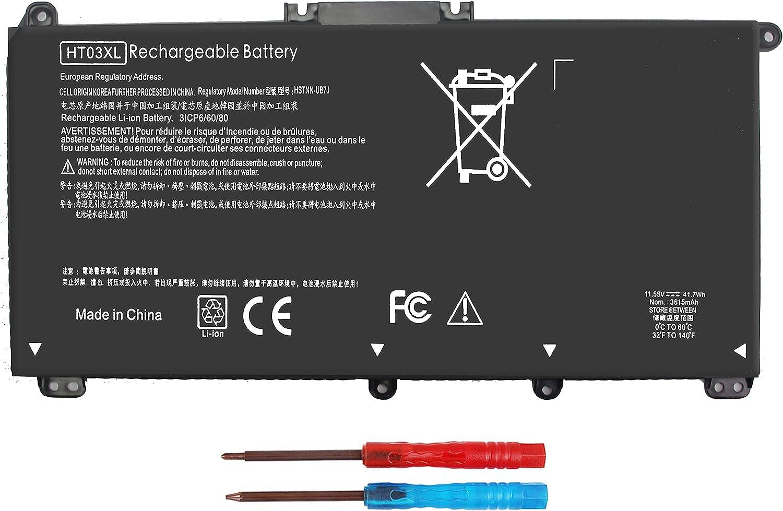 HT03XL L11119-855 Laptop Battery for HP Pavilion 14-CE 14-CF 14S-CF 14-CK 14-DF 14-DH 14-DK 15-CS 15-CU 15-CW 15-CR 15-DA 15-DB 15-DB0011DX 15-DA0032WM L11421-2C2 L11421-422 HSTNN-1B80