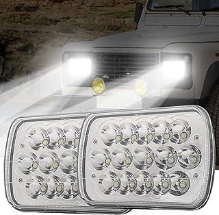 Ourbest 5x7 7x6 H6054 Led Headlights Hi/Low Sealed Beam Rectangular Headlamp for H5054 H6054LL