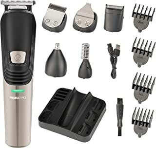 Beard Trimmer 6 in 1 Hair Clipper Electric Trimmer Shaver...