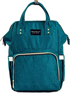 Diaper Bag Nappy Bag Travel Backpack Waterproof Multi-Function Mommy Bag for Baby Care Large Capacity Stylish and Durable Perfect for Travel Work or Outing (green)