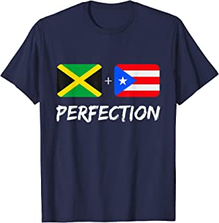 Jamaican Plus Puerto Rican Perfection Mix Gift T-Shirt