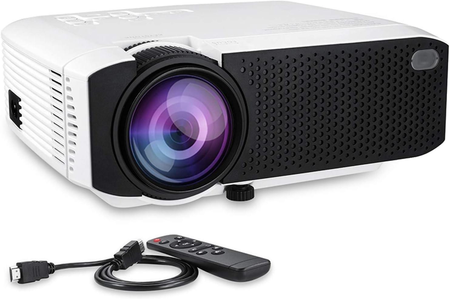 CAOMING E400 1600 Lumens 1280x720 720P Pro cheap Portable LED Smart Max 63% OFF HD