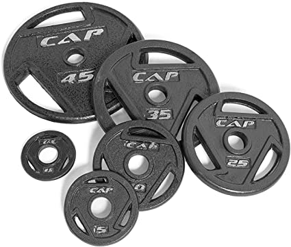 CAP Barbell Olympic Weight Plates Sets