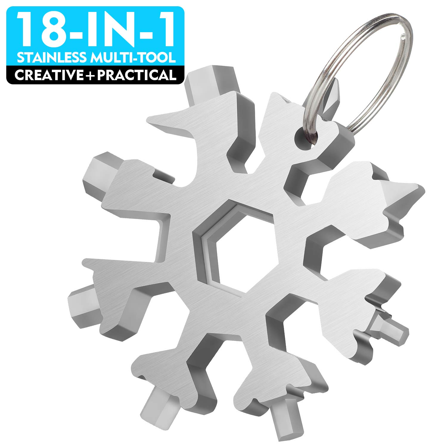 WETOLS Snowflake Multi Tool Stainless Comfortable