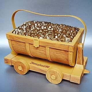 Disney 60th Diamond Celebration Popcorn Bucket Mine Car-Seven Dwarfs Gem Train