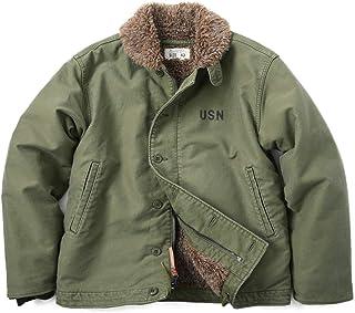 HOUSTON N-1デッキジャケット USED加工モデル 5N-1UD 日本製