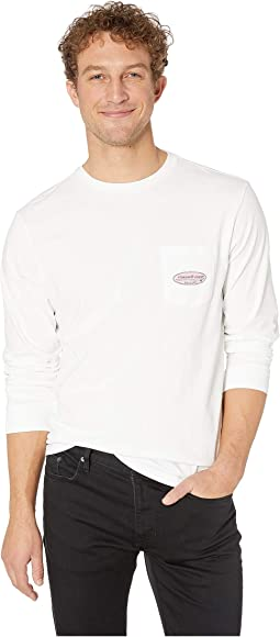 Long Sleeve VV Surf Logo Pocket Tee