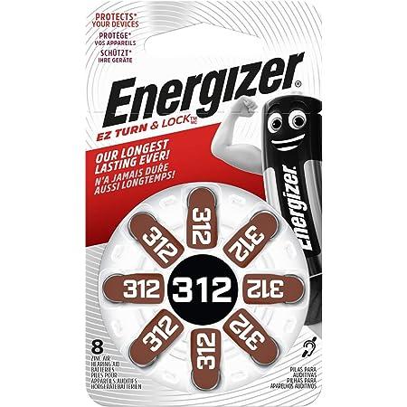 Energizer 634924 Hörgerätebatterie Typ 312 Zink Luft Amazon De Elektronik