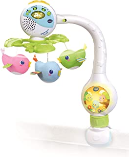 VTECH- Mobile TOURNI CUI Baby, 80-513105, Multicolore - Version FR