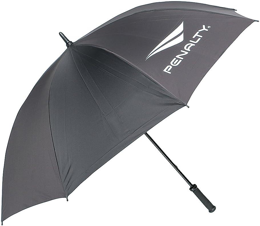 スタウト踏み台大PENALTY(ペナルティ) アンブレラ (専用ケース付属) UV加工 日傘 晴雨兼用 ビッグサイズ ブラック PE5540