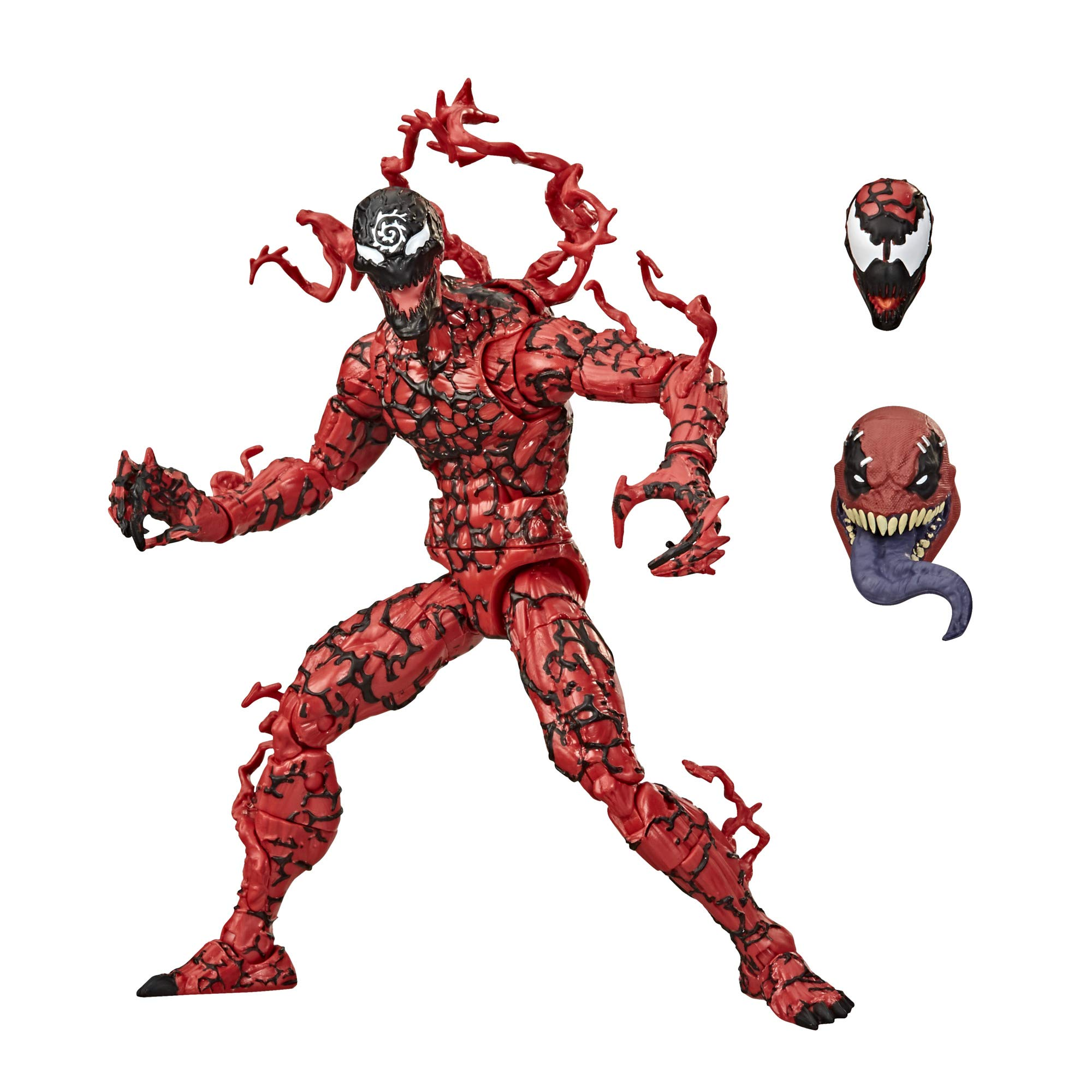Hasbro Marvel Legends Series Venom 6-inch Collectible Action Figure Toy Carnage, Premium Design and 1 Accessory