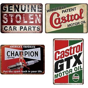 HALEY GAINES Notice Peugeot Parking Only M/étal Mur Affiche Vintage /Étain Mural Signe D/écorative M/étallique Panneau R/étro Plaque pour Bar Caf/és Cuisines Maison Garages 20 30cm