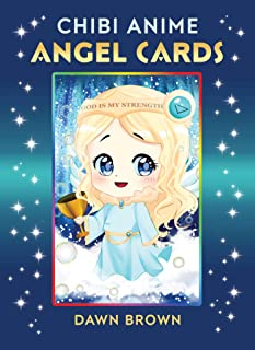 Chibi Anime Angel Cards