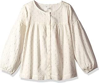 Gymboree Girls' Big Long Sleeve Woven Shirt