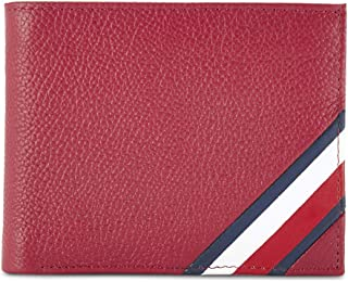 Tommy Hilfiger Red Men's Wallet (TH/SIPSEYMCCW04)