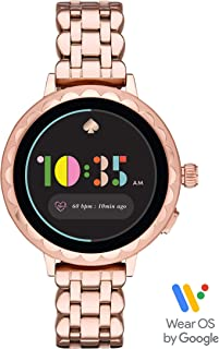 Kate Spade New York Women's Scallop Smartwatch 2 powered with Wear OS by Google- pairs wirelessly with both iPhones and Android