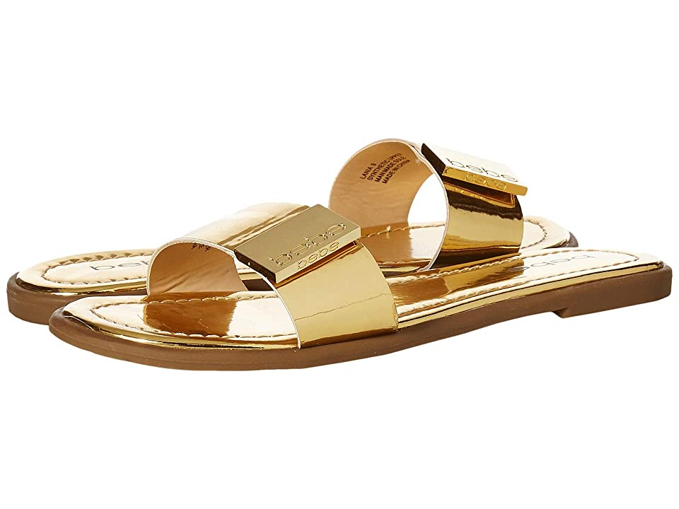 Bebe Lania (Gold Metallic) Women