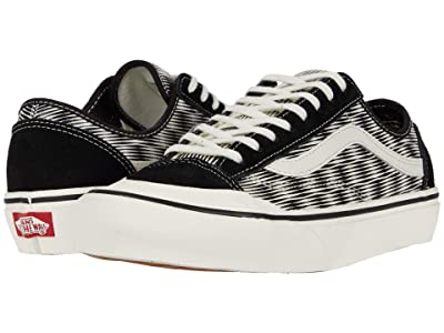 Vans Style 36 Decon SF ((Hemp Blur Checker) Black/Marshmallow) Men