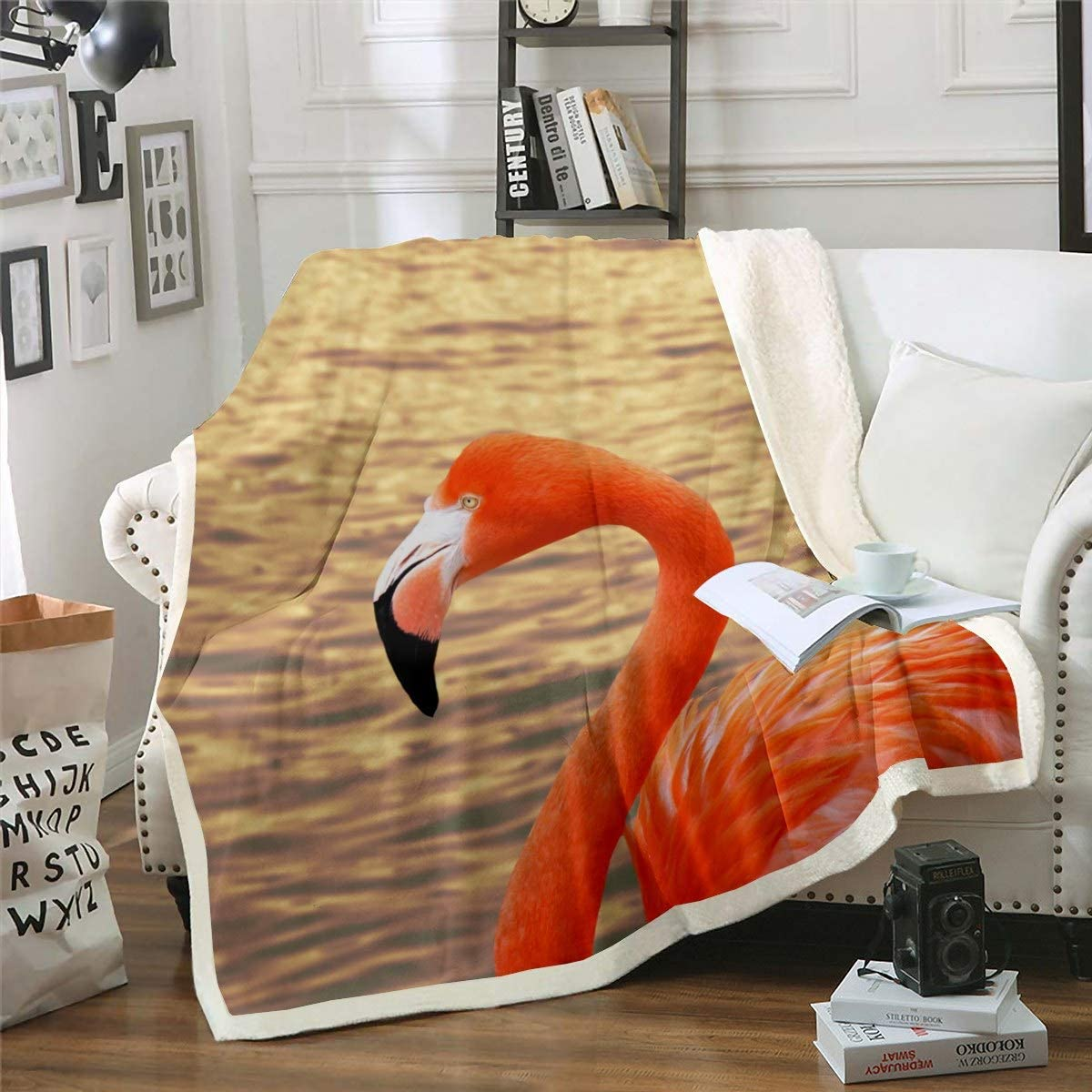 Feelyou Flamingo Blanket for Kids Boys Girls Adults Tropical Milwaukee Mall Ani All items free shipping