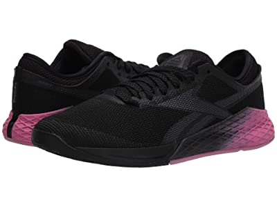 Reebok Nano 9 (Black/Cold Grey/Posh Pink) Men
